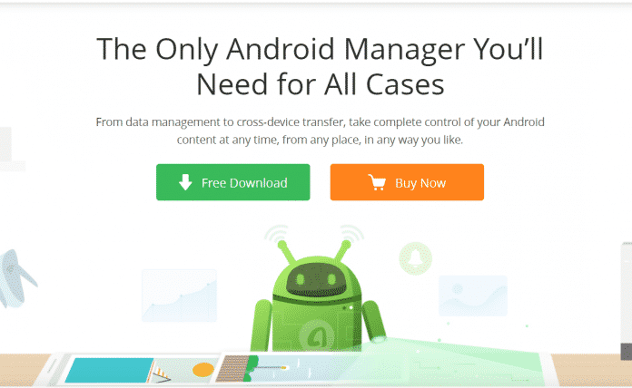 Manage Android Data from Computer with AnyTrans for Android