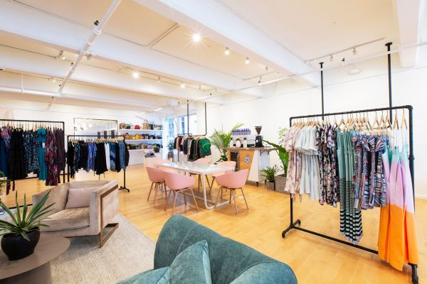 Rent the Runway just opened its largest brick-and-mortar store yet