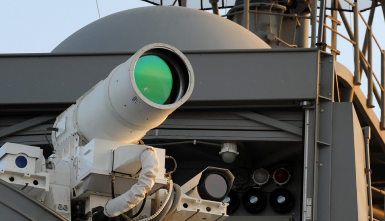 Rolls-Royce Is Selling a Power System for Lethal Laser Weapons
