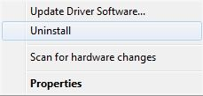 Uninstall The Problematic Device Driver