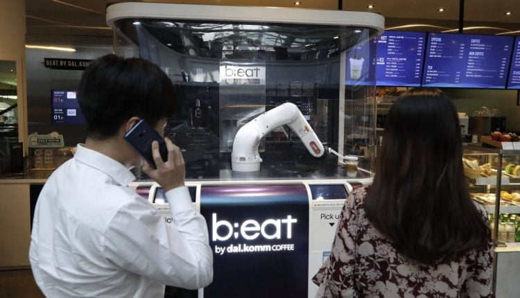 South Korean businesses growingly adopt unmanned services