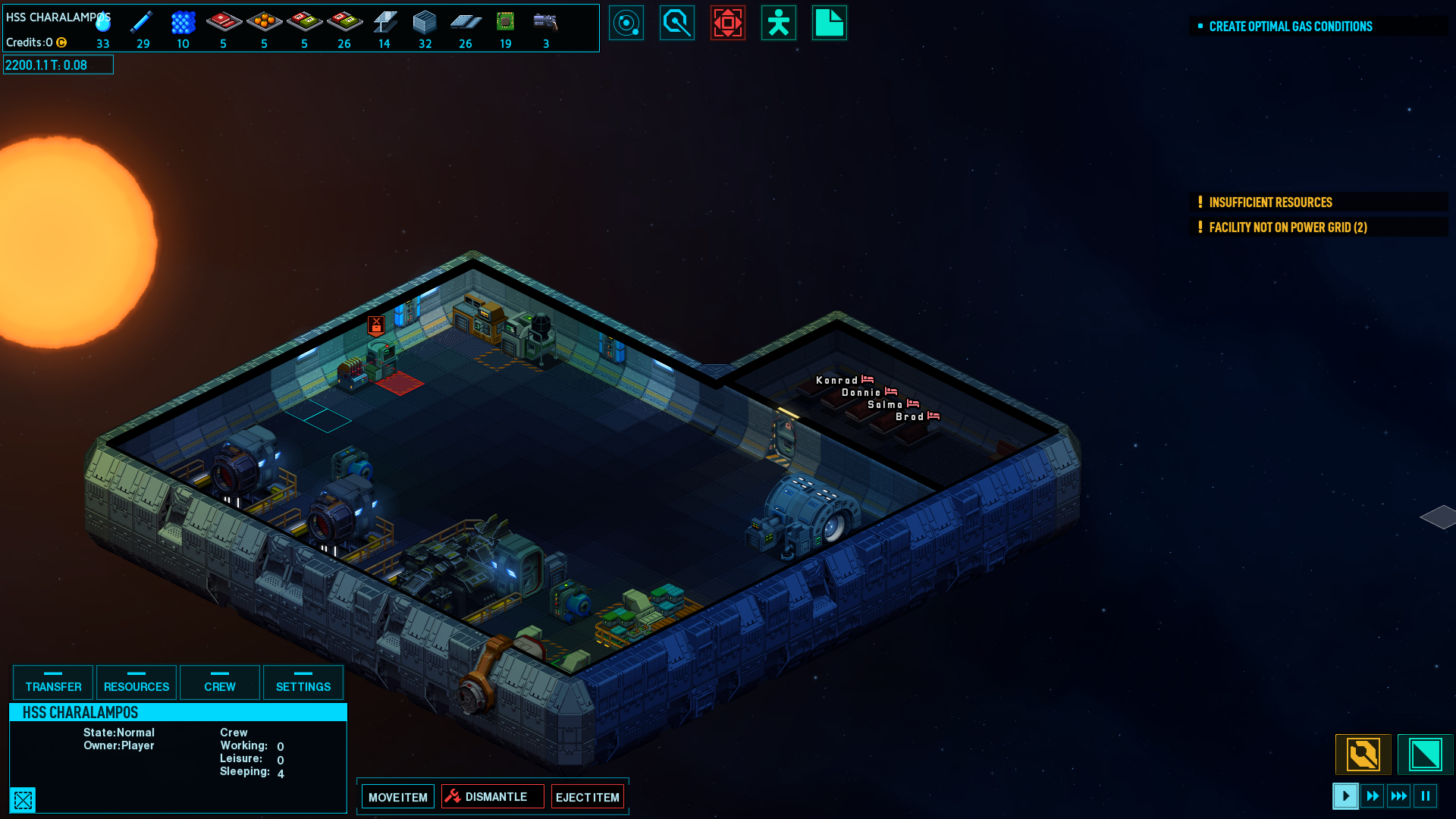 Space Haven Alpha 2 released, you can now build a fleet of ships 2
