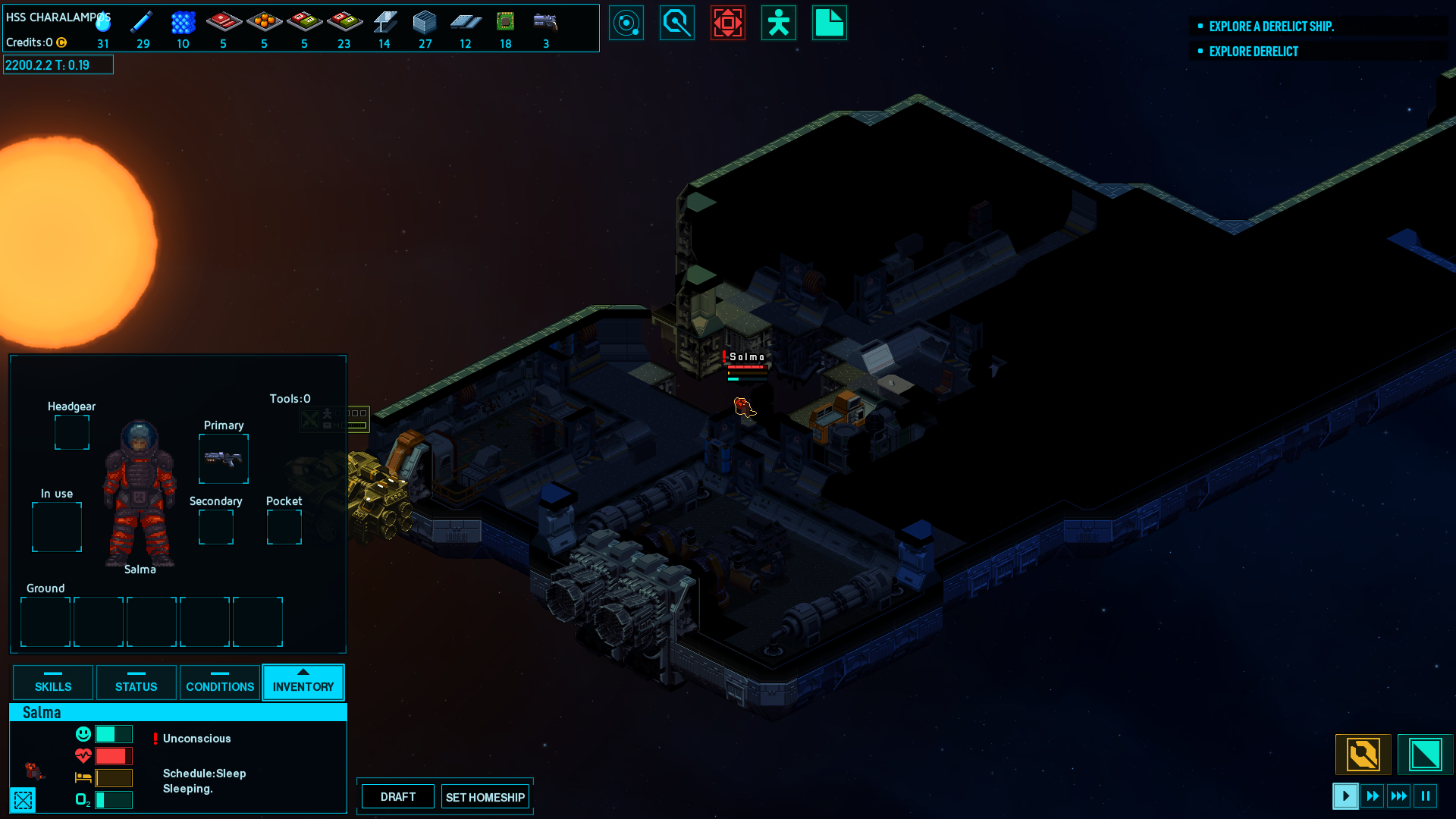 Space Haven Alpha 2 released, you can now build a fleet of ships 3