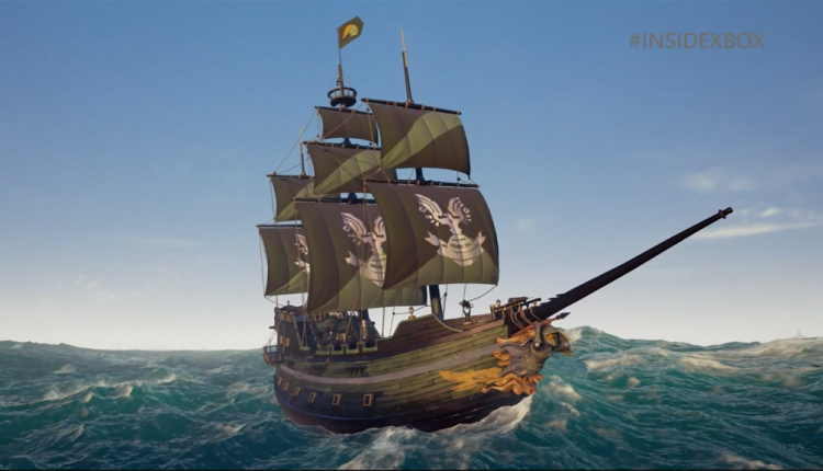 Halo Spartan Ship Set Announced for Sea of Thieves