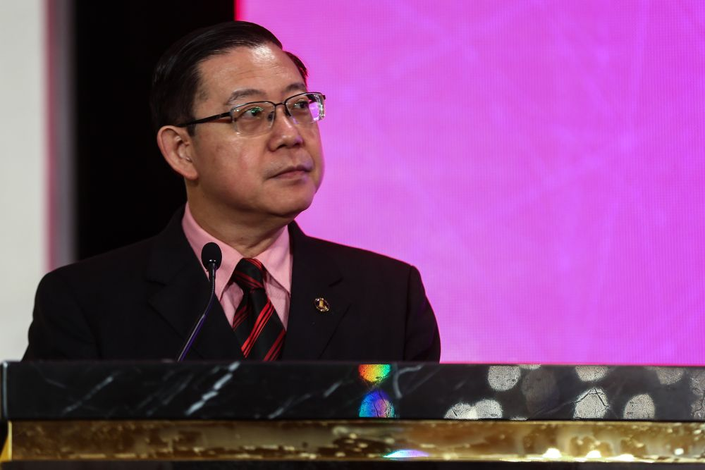 Finance Minister Lim Guan Eng said the government will build the Kedah Digital Library at a cost of RM15 million beginning early next year. ― Picture by Ahmad Zamzahuri