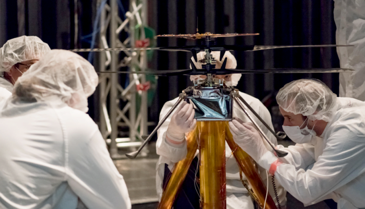 NASA Is Testing Its Tiny Mars Helicopter for July 2020 Launch