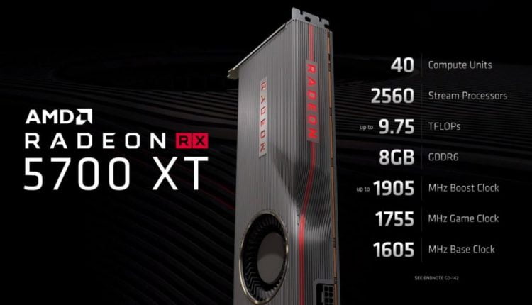 AMD slashes prices of Radeon 5700 GPUs just two days before its launch
