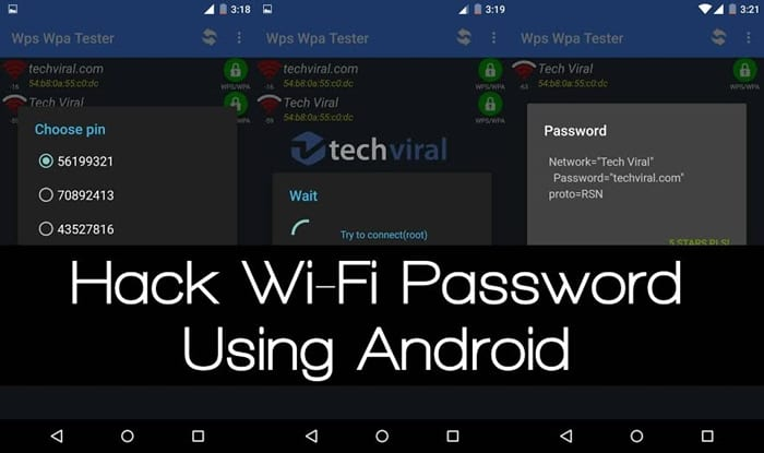Hack Wifi Security In Your Android