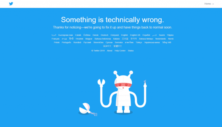 Twitter is down, company is investigating issues