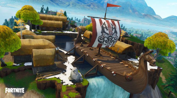 Fortnite: Where to Get 100 Wood from Pirate and Viking Ships