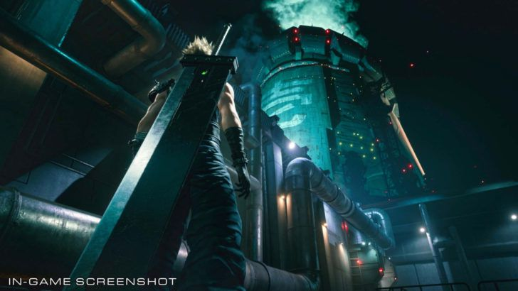 Final Fantasy 7 Remake Art Reveals Midgar Sector 1