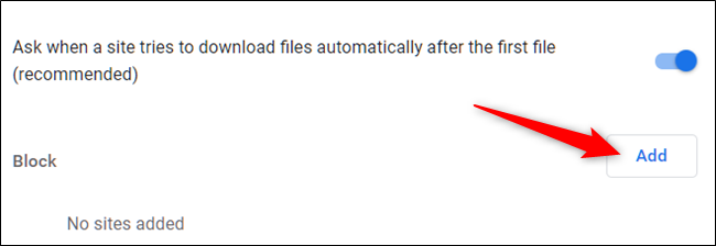 How to Enable/Disable Multiple File Downloads in Chrome