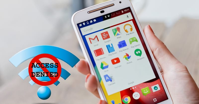 How to Block Internet Access For Specific Apps on Android