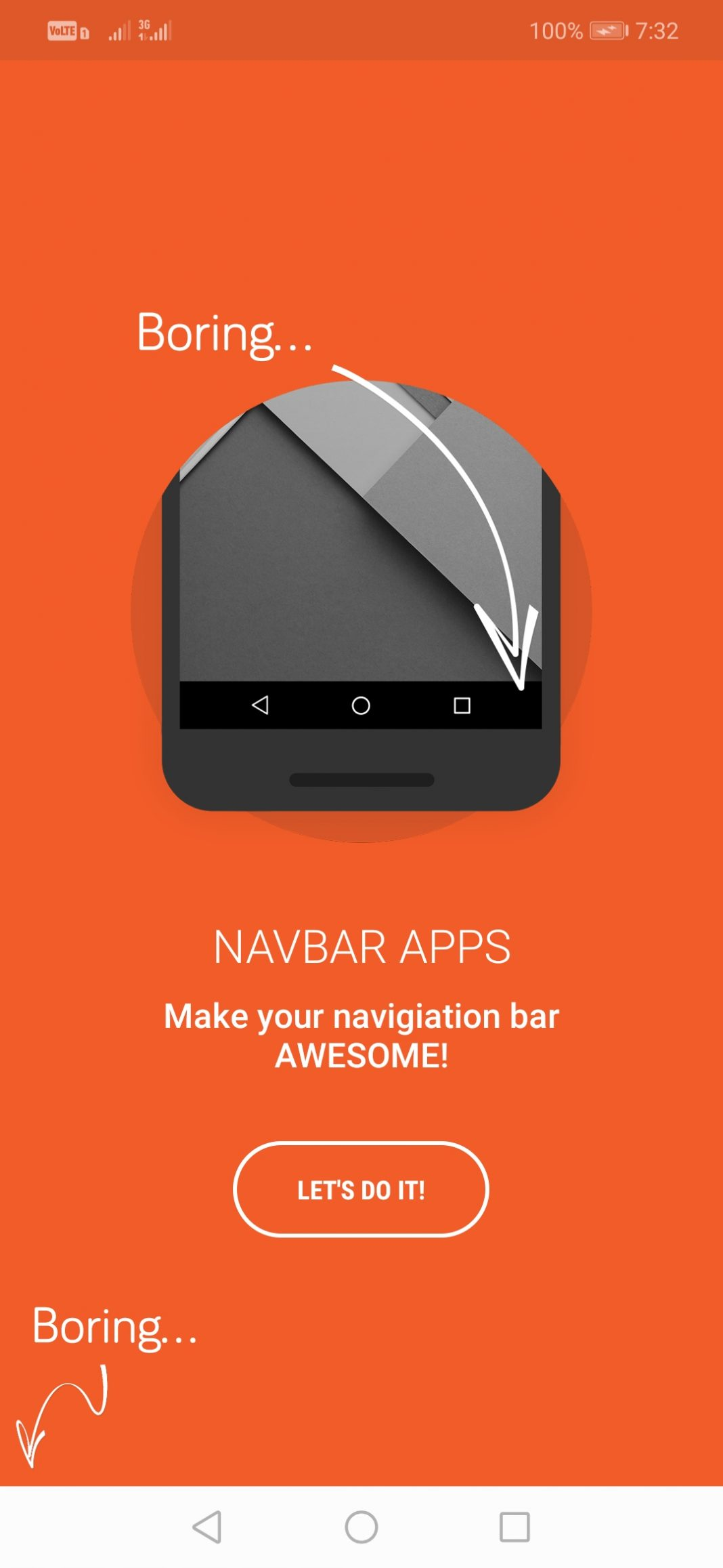 Change the Color of Navigation Bar on Android
