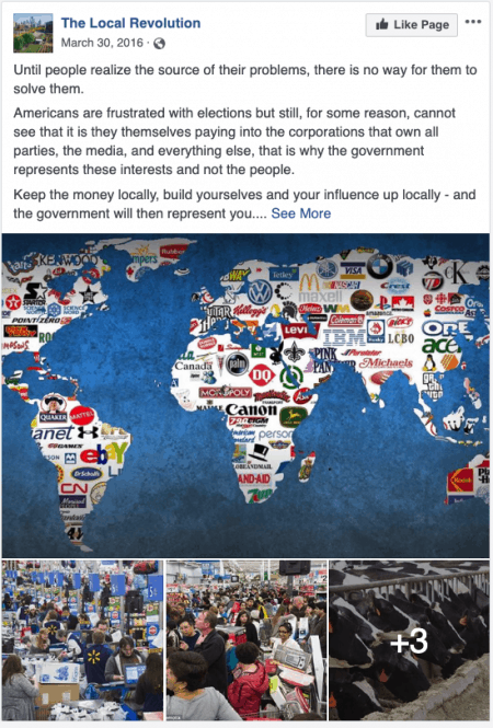 Facebook Removed Pages, Groups, Accounts in Thailand, Russia, Ukraine, Honduras 2