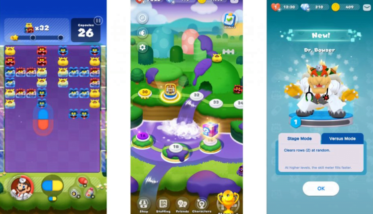 Dr. Mario World releases a day early on iOS