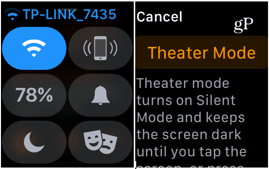 How to Use Theater Mode on Your Apple Watch 1