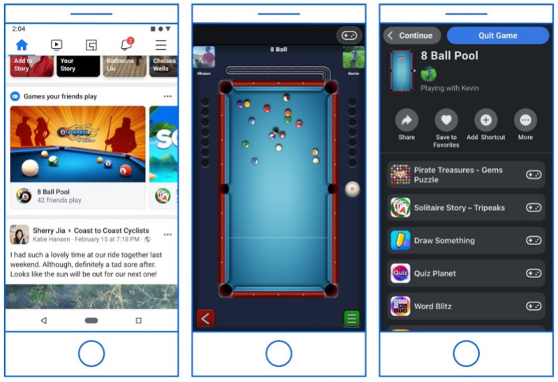 Instant Games will migrate from Messenger to Facebook and Facebook Gaming tab 1