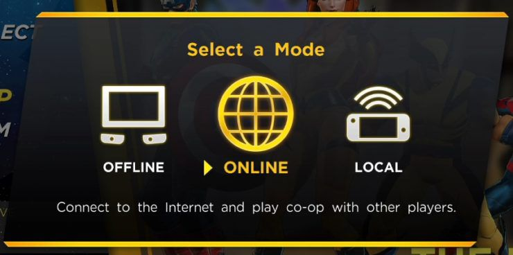 marvel ultimate alliance 3 online multiplayer modes