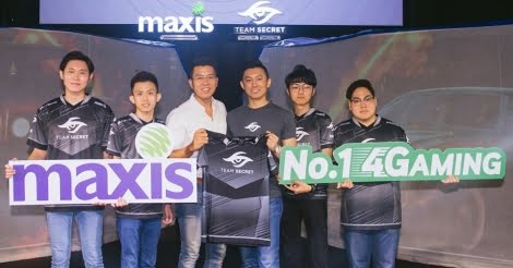 Maxis collaborates with Team Secret to empower next generation of players