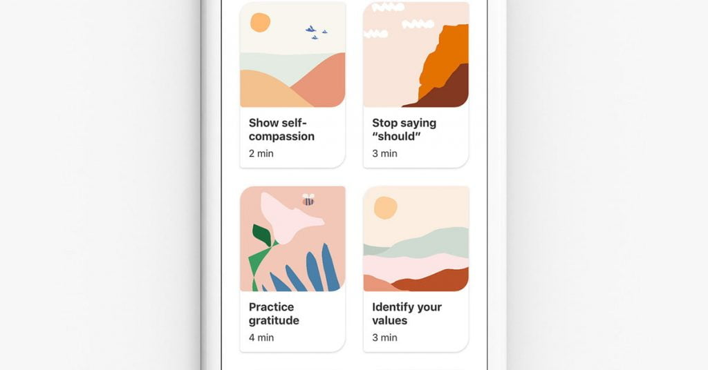 New Pinterest tools promote mental health for stressed searchers