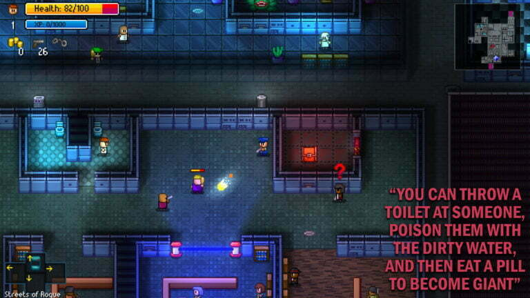 Streets Of Rogue, As Told By Steam Reviews