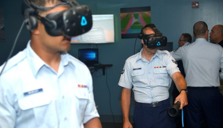 USAF uses virtual reality VR technology for airfield maintenance training