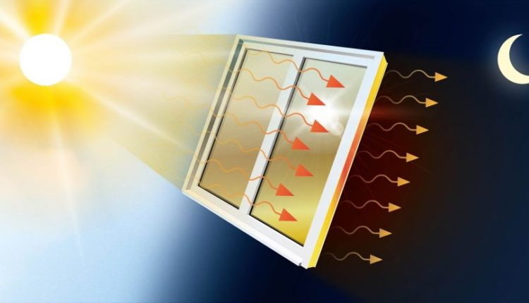 Window film could even out the indoor temperature using solar energy