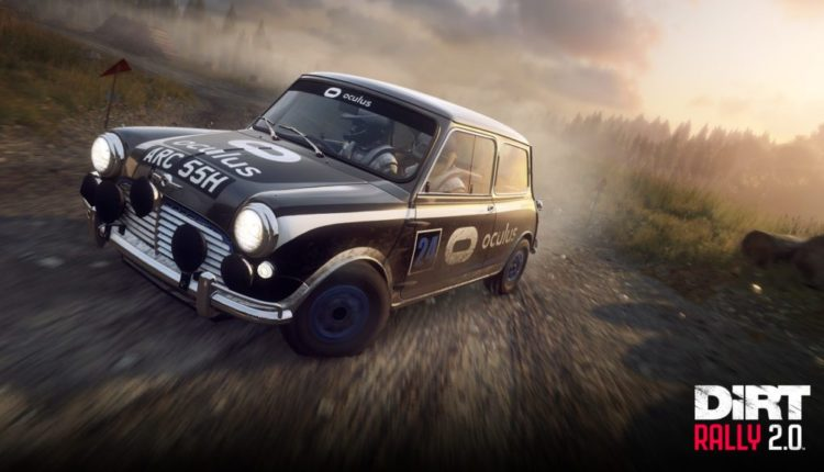 The DiRT Rally 2.0 VR Update has now Gone Live