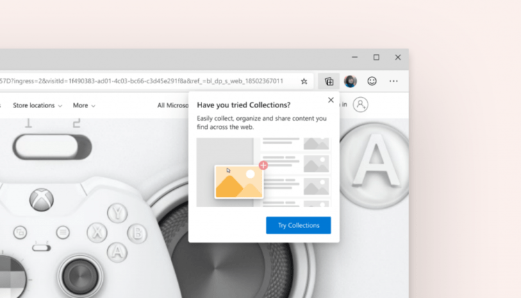 Try out an experimental preview of Collections for Microsoft Edge