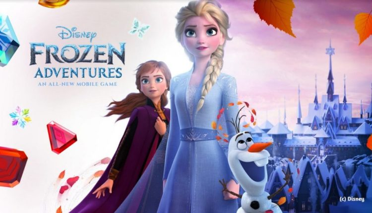 Jam City unveils Frozen Adventures mobile game coming in November