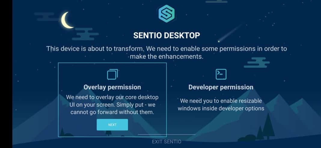 Using Sentio Desktop