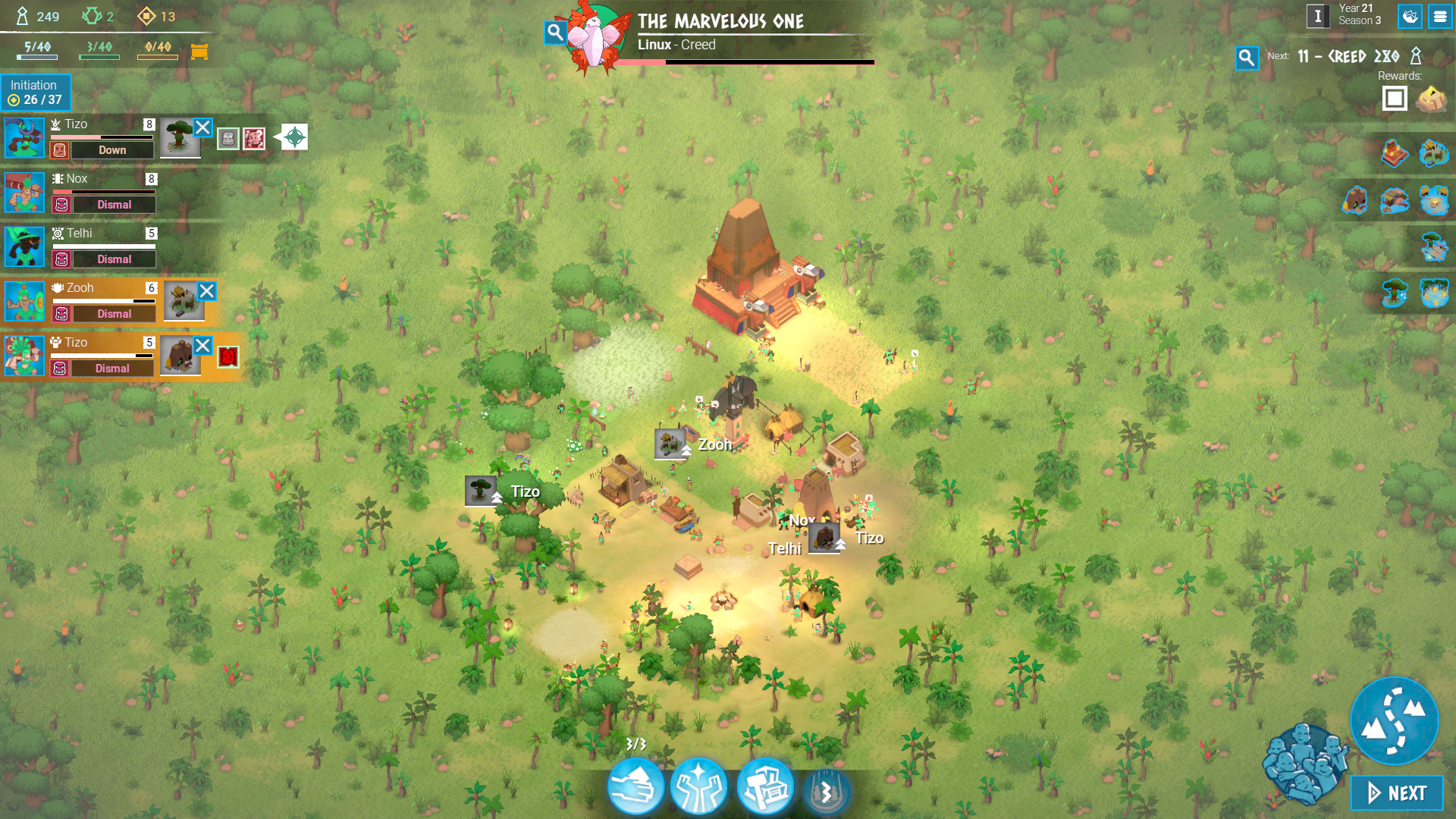 Abbey Games have released the Will Of The People update for Godhood 1
