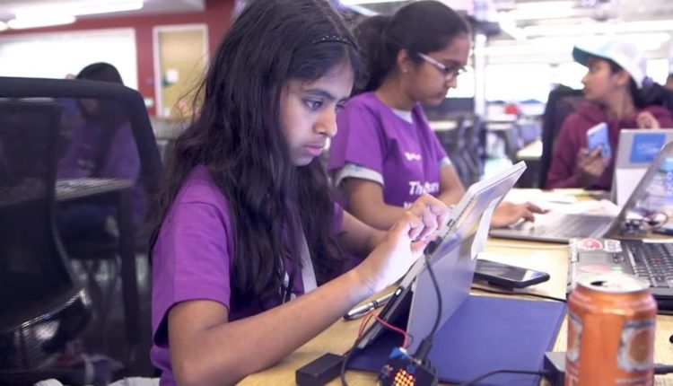 Hackathons show teen girls the potential for AI and themselves
