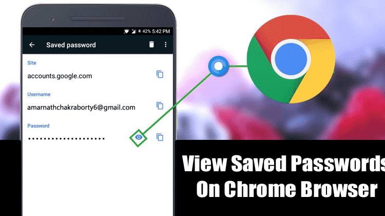How to View Saved Passwords in Chrome For Android