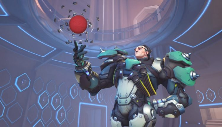 New Overwatch Custom Mode Turns Sigma Into A Dodgeball Player