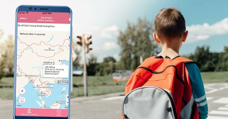 Flaws in Over Half a Million GPS Trackers Expose Children Location Data