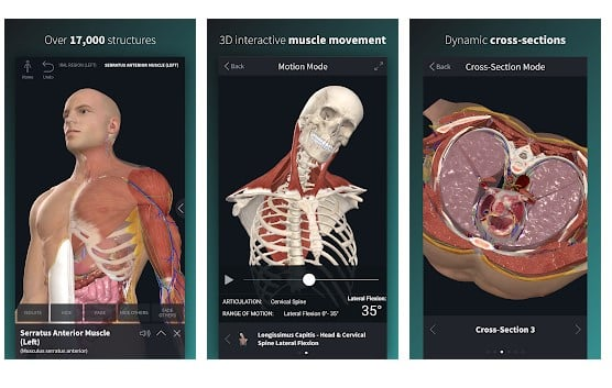 Complete Anatomy 19 for Android