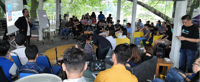 Ipoh youth hungry to make a difference attending the inaugural GoDigital - Youth community event in Ipoh on Sept 7.