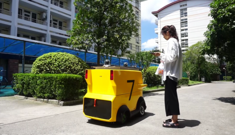 Meituan tests delivery robots in Beijing and Shenzhen