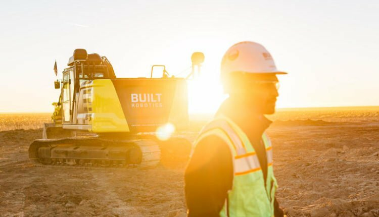 Robotic excavators get a boost with $33 million for Built Robotics