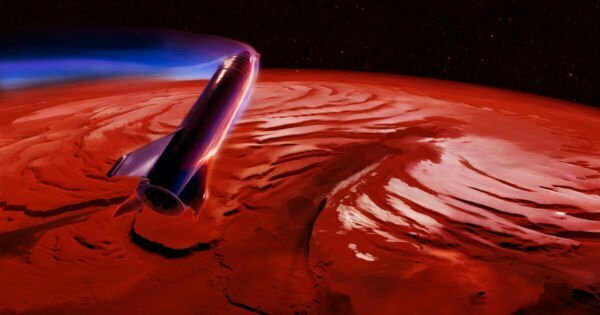 SpaceX Working With NASA to Find Mars Landing Sites for Starship