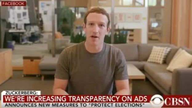 The deepfake clip features a computer-generated version of Mark Zuckerberg talking, blinking and moving his head for emphasis