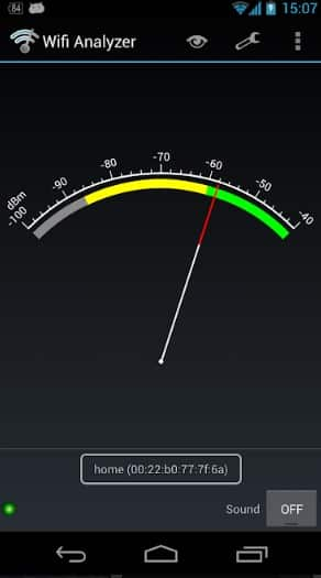 Check WiFi Signal Strength On Android