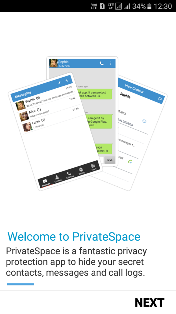 Using Private SMS & Call Text
