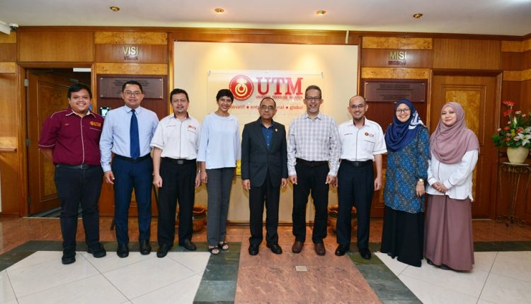 UTM received a courtesy visit from Malaysia Digital Economy Corporation