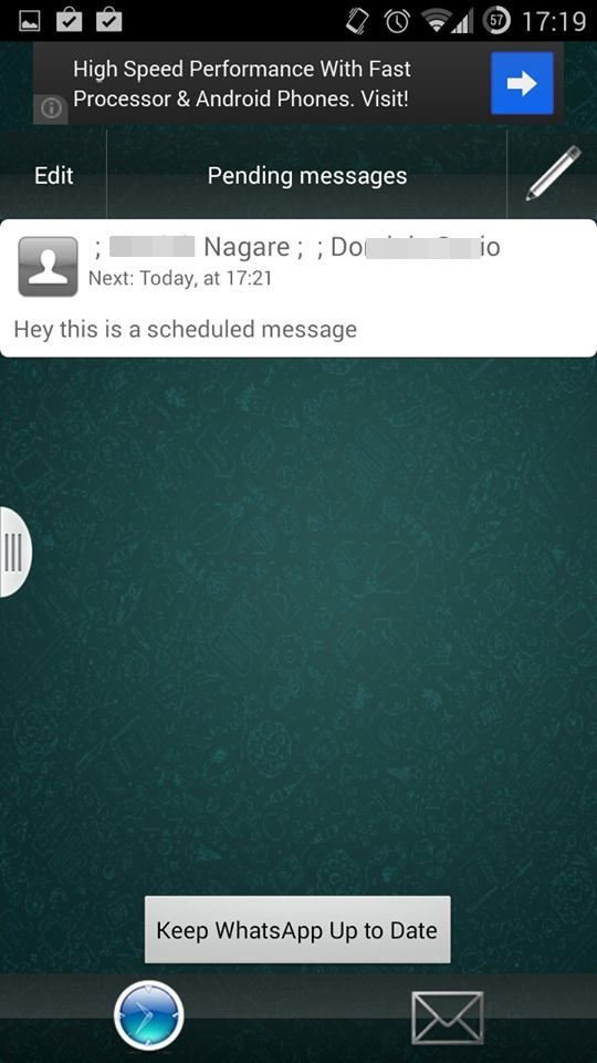 Schedule Whatsapp Messages On Android