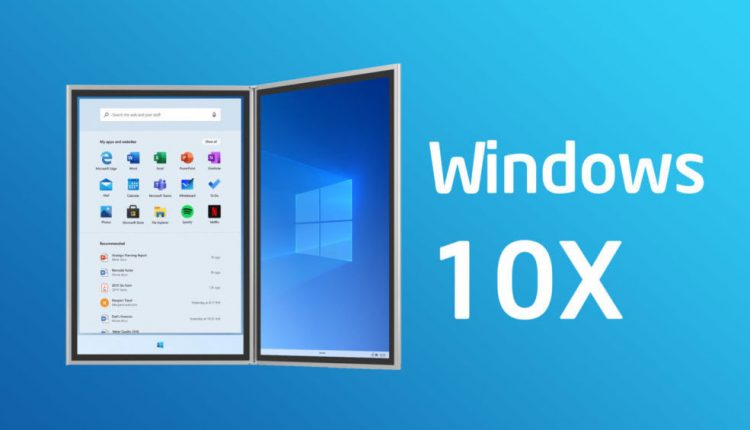 Microsoft Windows 10X Leaks With Android-like Features