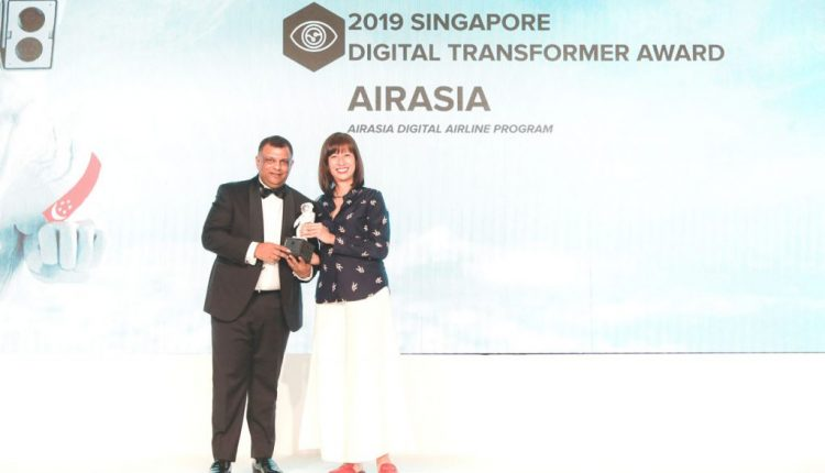 AirAsia named Asia Pacific Digital Transformer of the year at IDC DXA 2019