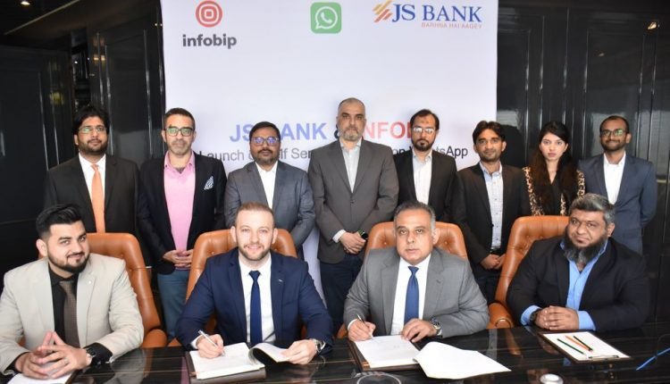JS Bank Becomes First in Pakistan to Launch Self-Service Banking on WhatsApp